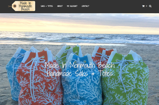 Made In Monmouth Beach - Custom Website Created by Jersey Shore Computing