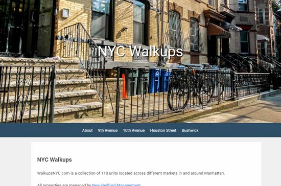 WalkUpsNYC.com
